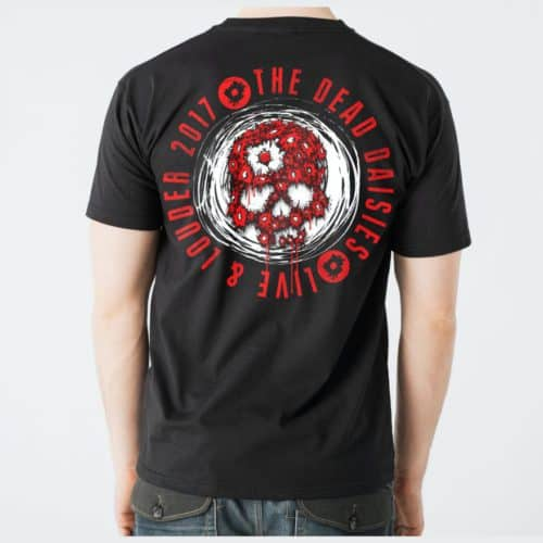 Black Live and Louder T-Shirt